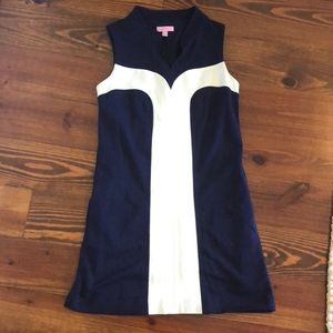 Lily Pulitzer Navy and White dress